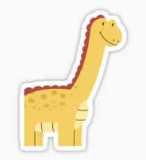 Happy Dinosaur Sticker