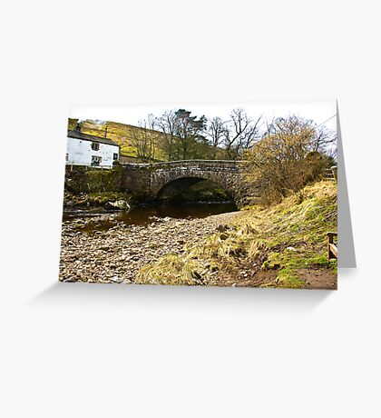 Pack Horse Bridge - Hubberholme Greeting Card