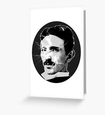Tesla - Electricity Greeting Card