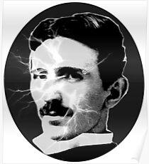 Tesla - Electricity Poster