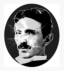 Tesla - Electricity Photographic Print