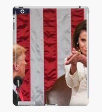 Momma Pelosi showing Trump the bidness iPad Case/Skin