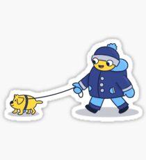 Peeps & Pups (1/3) Sticker