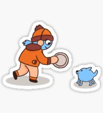 Peeps & Pups (3/3) Sticker