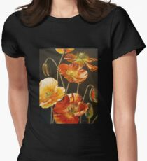 Clothing: Poppies Too (for Lea Durham) Womens Fitted T-Shirt
