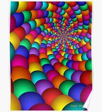 Bubblegum Fractal Poster