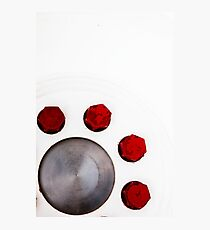 Red Nuts Photographic Print