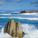 Asilomar Rollers - Asilomar State Beach by JimPavelle