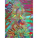 Six of Banyan Trees giclee with borders by Denise Weaver Ross