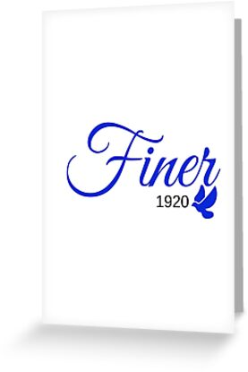 Finer 1920 by Tiare Smith