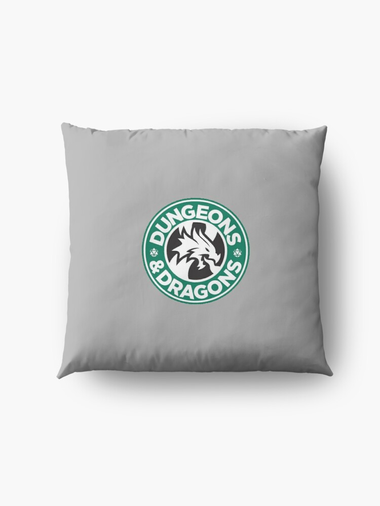 Alternate view of DUNGEONS DRAGONS Floor Pillow