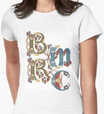 Bryn Mawr Renaissance-Chorlogo Tailliertes T-Shirt