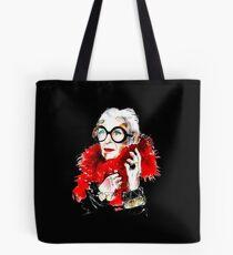 Iris Apfel Tote Bag