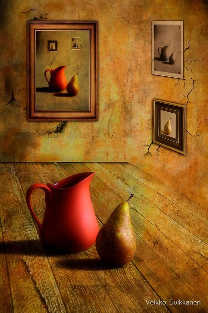 Jug and Pear Exhibition by Veikko  Suikkanen