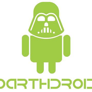 Darthdroid Darth Vader android by dracula385