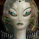 Alien Portrait by Cornelia Mladenova