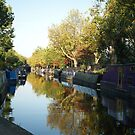 A Canal near Little Venice in London by chibiphoto