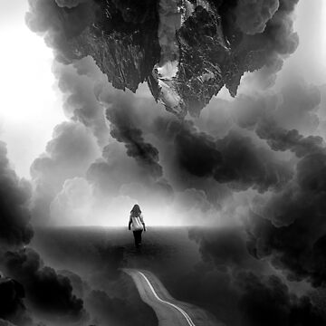Call me Home a Black and White Collage by stohitro