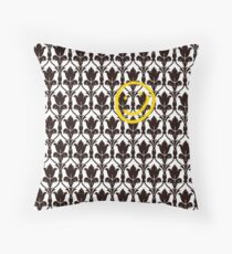 Sherlock Smile Face Throw Pillow