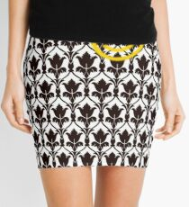 Sherlock Smile Face Mini Skirt