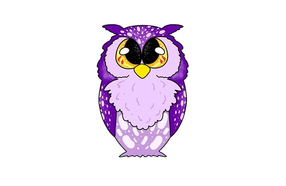 Purple Owl by PilotStudios