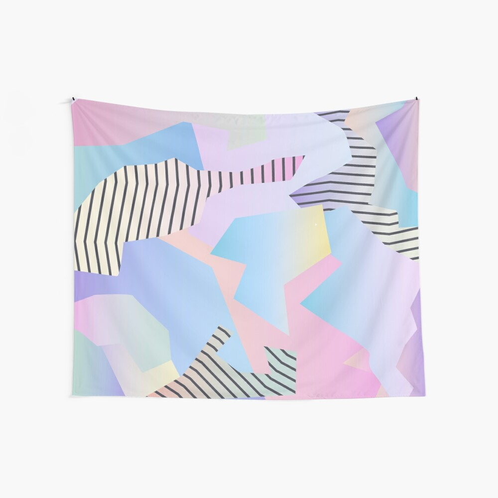 Abstract gradient 2 Wall Tapestry