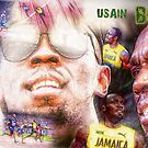Usain Bolt von coolArtGermany