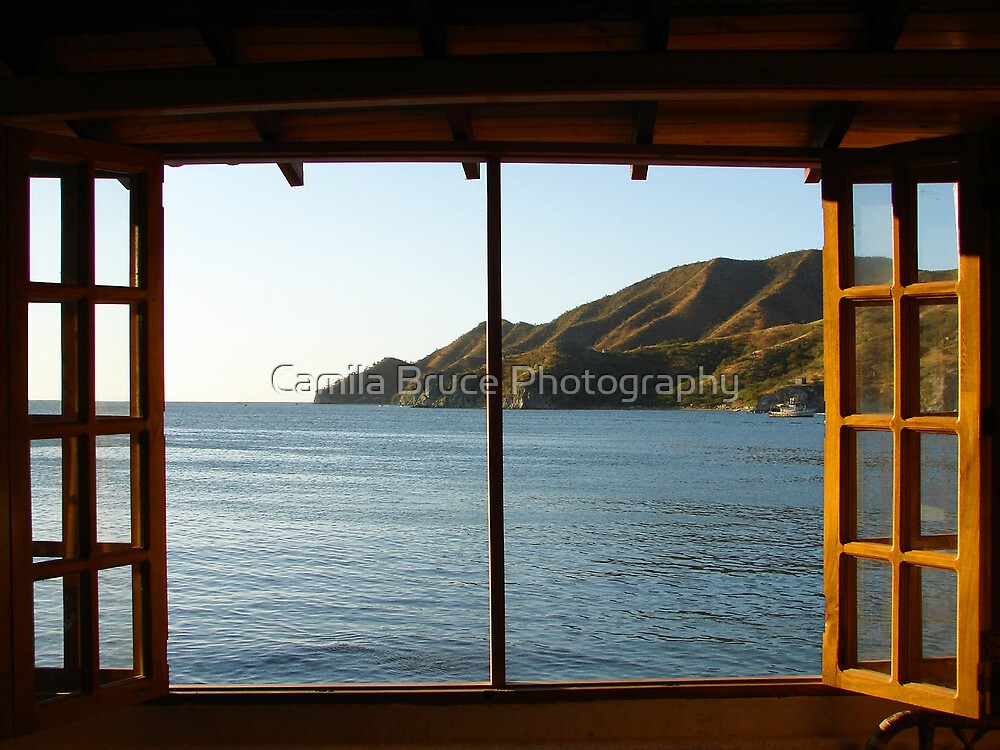 Window to Paradise by Camila Bruce Photography