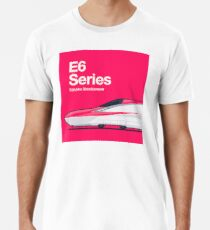 Shinkansen Collection - E6-Serie von Komachi Premium T-Shirt