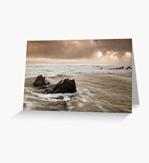 Church Cove Ebb and Flow Greeting Card