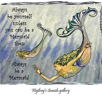 Mermaid Art ... m12 by whiteygilroy