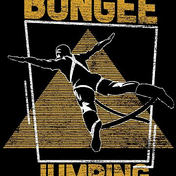 Bungee jumping hobby by GeschenkIdee