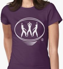 Latin workout t-shirt suitable for Zumba class Womens Fitted T-Shirt