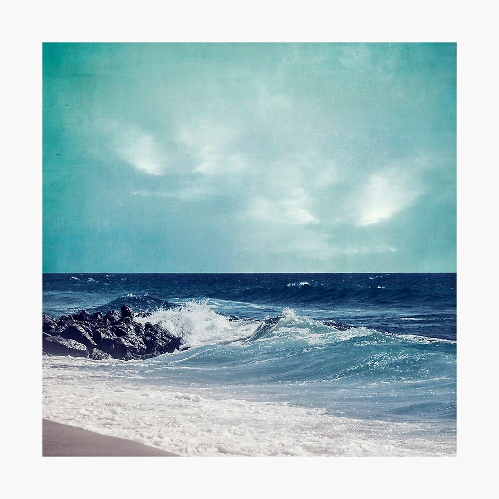 the Atlantic Surf Photographic Print