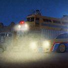 Nacht Wüste von coolArtGermany