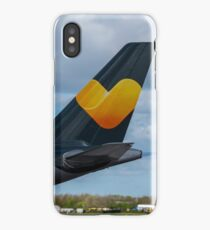 Thomas Cook Airlines Airbus A330 tail in new livery iPhone Case