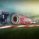 F1 Zeichnung von coolArtGermany