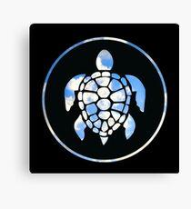 Sky Turtle Canvas Print