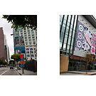 Figueroa Street + Olympic Boulevard, Downtown, Los Angeles, California, USA...narrowed. by David Yoon