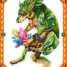 Link wolf by Kelshray
