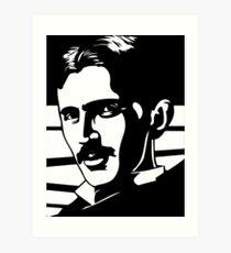 Nicola Tesla  Art Print