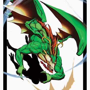 Midori - Dragon Form by Sirlin