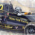 Monaco 1976 Wolf Wiliams FW05 Jacki Ickx by Yuriy Shevchuk