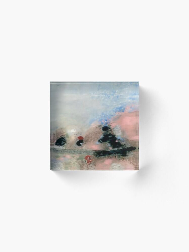 Alternate view of Mist Acrylic Block