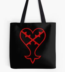 Kingdom Hearts: Herzloses Emblem Tote Bag