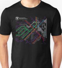 MBTA Boston Subway - The T Unisex T-Shirt