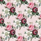 Retro Roses pattern by ShowMeMars