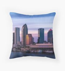 Unearthly Tampa Throw Pillow