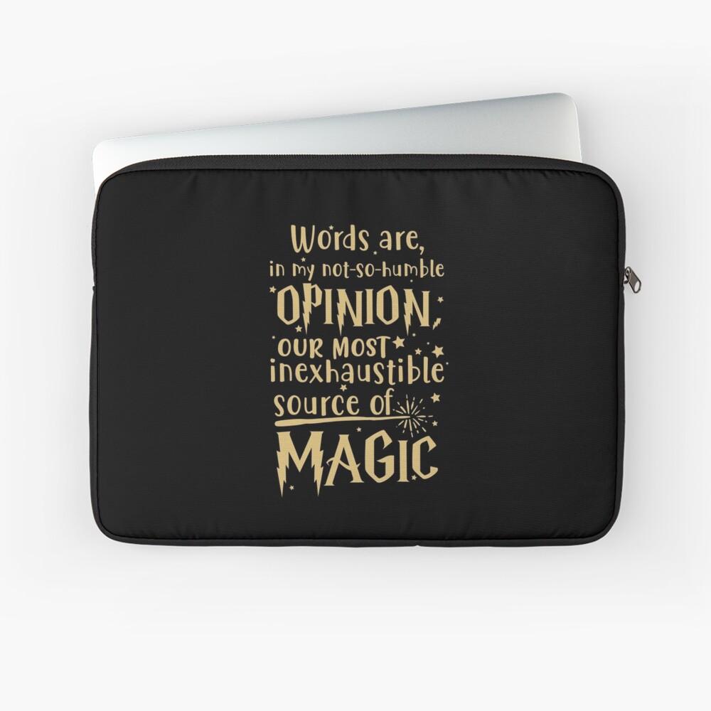 Inexhaustible source of magic Laptop Sleeve