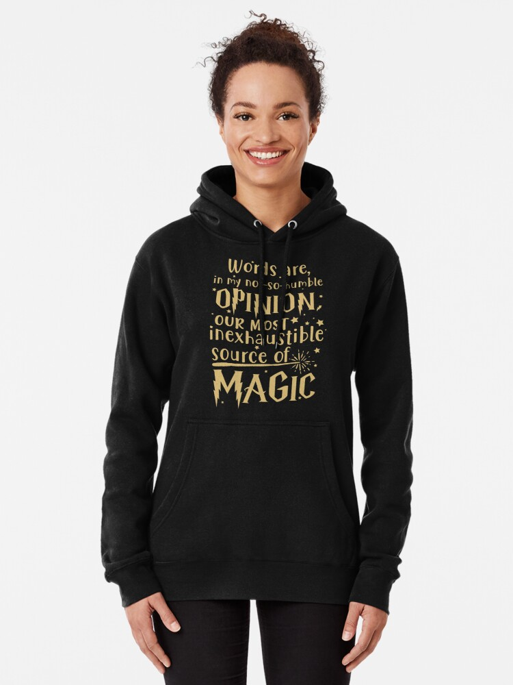 Alternate view of Inexhaustible source of magic Pullover Hoodie